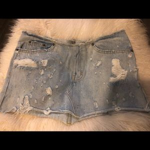 LF Customized Carmar Denim Mini Skirt